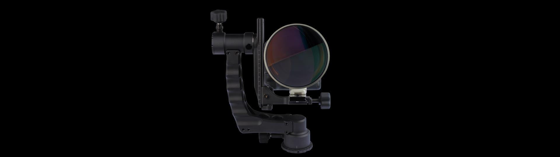 Katana Gimbal Head for Tripods Telephoto Lenses Canon Nikon Sony Made in USA