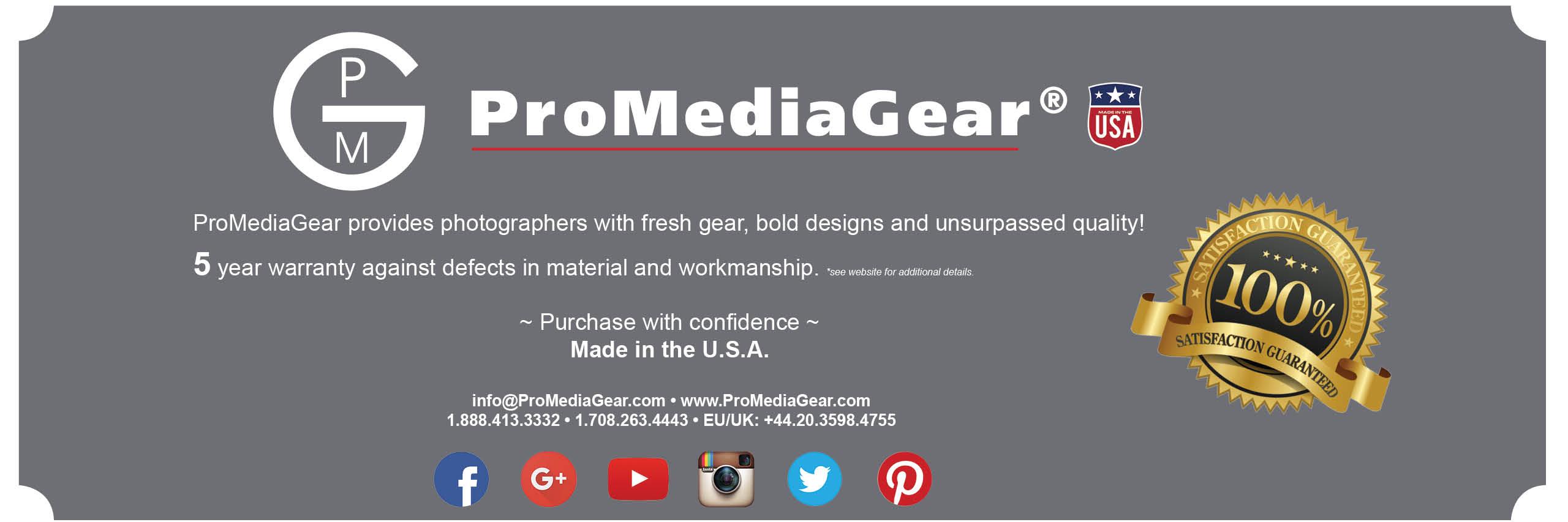 ProMediaGear Warranty
